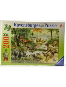 Пазл Динозавры (200 деталей) Ravensburger/Равенсбургер