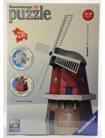 Пазл 3D Ветряная мельница (216 элементов) Ravensburger/Равенсбургер