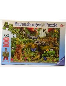 Пазл Дикие джунгли (100 деталей) Ravensburger/Равенсбургер
