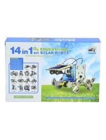 Конструктор для создания 14 самодельных роботов, работающих на солнечных батареях, в одном наборе / Cute Sunlight