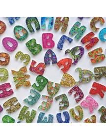 Счастливая Азбука 60 букв, 17 знаков препинания и фигурок, 2 сортера, книжка-раскраска