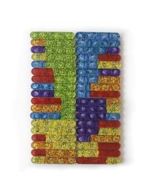 Счастливые Счетные Палочки - Тихонова (36 палочек + 1 игровое поле + 1 буклет)