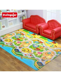 """Dwinguler """"Medium-15"""" Коврик игровой детский развивающий (1900х1300х15) My Town / Мой город"""