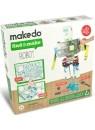 """Конструктор MAKEDO """"Подумай и сделай робота"""", 33 детали"""