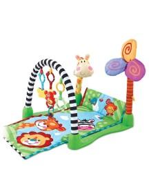 """Развивающий игровой коврик для новорожденного, Fitch Baby, """"Kick & Crawl Gym"""" / Фич Бэйби , """"Кик и кров центр"""", 8504"""