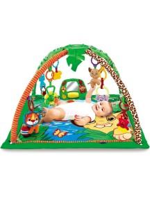 """Развивающий музыкальный игровой коврик для новорожденного, Fitch Baby, """"Delux Musical Mobile Gym""""/ Фич Бэйби, """"Муз центр"""",8507"""