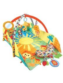 """Развивающий игровой коврик с бортиками для новорожденного, Fitch Baby, """"3 Ways To Play"""""""