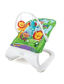 """Детское кресло-качалка с игрушками и вибрацией, Fitch Baby, """"Forest Friends"""" / Фич Бэйби, """"Лесные друзья"""", 88929"""