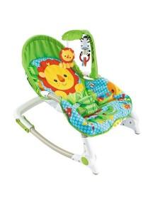 """Детское кресло-качалка с игрушками и вибрацией, Fitch Baby, """"Newborn-To-Toddler"""", 88921 / Фич Бэйби, """"Для новорожденных малышей"""""""