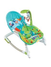 """Детское кресло-качалка с игрушками и вибрацией, Fitch Baby, """"Newborn-To-Toddler"""", 88922 / Фич Бэйби, """"Для новорожденных малышей"""""""
