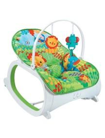 """Детское кресло-качалка с игрушками и вибрацией, Fitch Baby, """"Infant-To-Toddler Delux"""", 88925 / Фич Бэйби, """"Младенческая"""""""