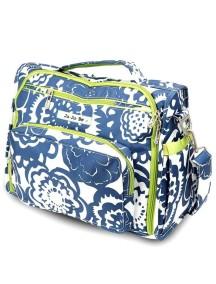 """Сумка рюкзак для мамы Жу-жу-би Би.Ф.Ф. """"Голубые цветы""""/ JU-JU-BE B.F.F. cobalt blossums"""