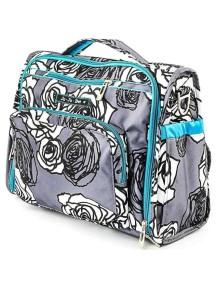 """Сумка рюкзак для мамы Жу-жу-би Би.Ф.Ф. """"Угольные розы""""/ JU-JU-BE B.F.F. charcoal roses"""