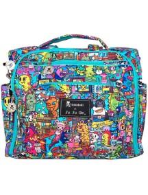 "Сумка рюкзак для мамы Жу-жу-би Би.Ф.Ф. ""Токидоки Город""/ JU-JU-BE B.F.F. tokidoki kaiju city"