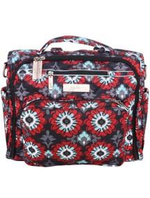 "Сумка рюкзак для мамы Жу-жу-би Би.Ф.Ф. ""Алые цветы""/ JU-JU-BE B.F.F. sweet scarlet"