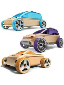 Конструктор-автомобиль A9-S/X9-X/M9 набор из 3 штук. Серия мини. (Automoblox minis) AUTOMOBLOX/Автомоблокс