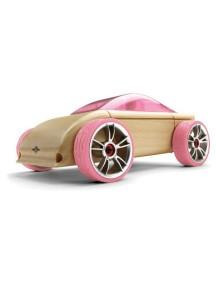 Конструктор-автомобиль C9-P Розовый Спорт-Кар. Серия мини. (Automoblox minis) AUTOMOBLOX/Автомоблокс
