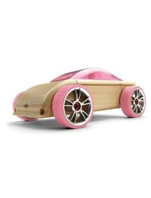 Конструктор-автомобиль C9p Розовое Спорт-Купе. Традиционный модельный ряд. (Automoblox originals) AUTOMOBLOX/Автомоблокс