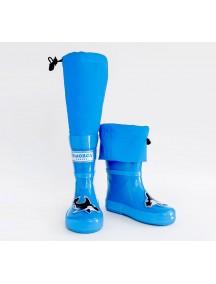 Резиновые сапоги МайПаддлБутс от КидОРКА (MyPuddle Boots  KidORCA). Цвет Голубой