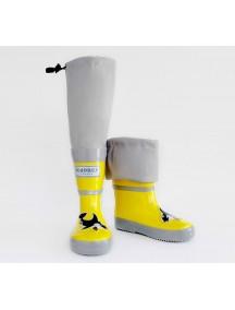 Резиновые сапоги МайПаддлБутс от КидОРКА (MyPuddle Boots  KidORCA). Цвет Желтый