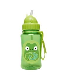 Детский поильник Skip Hop Zoo Straw Bottle - Хамелеон