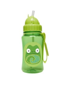 "Поильник с трубочкой детский ""Хамелеон"" Skip Hop Zoo Straw Bottle"