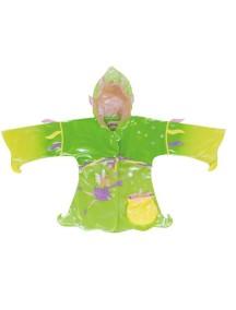 Плащ дождевик Фея Kidorable (Кидорабл), зелёный