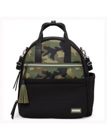 Рюкзак для мамы Скип Хоп Нолита на коляску с аксессуарами, камуфляжный (Skip Hop Nolita Neoprene Diaper Backpack)