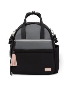 Рюкзак для мамы Скип Хоп Нолита на коляску с аксессуарами, серый (Skip Hop Nolita Neoprene Diaper Backpack)