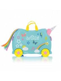 Trunki Unicorn Единорог Уна Детская каталка-чемодан  Транки
