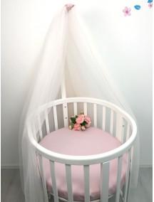 MARELE Балдахин для кроватки Ellipsebed, цвет розовый