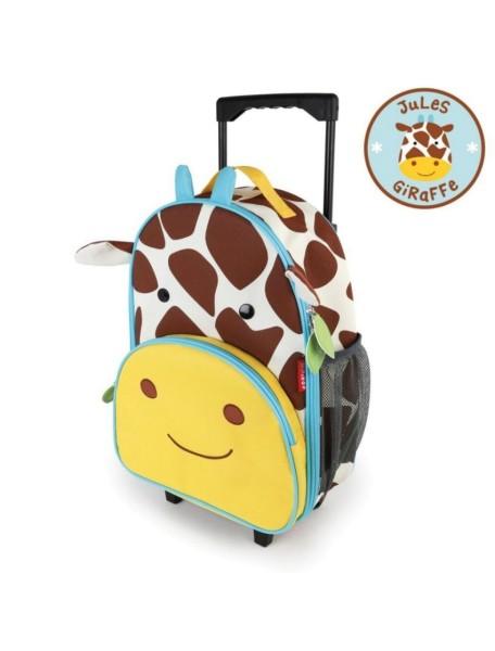 Детский чемодан на колесах Skip Hop Zoo Luggage - Жираф