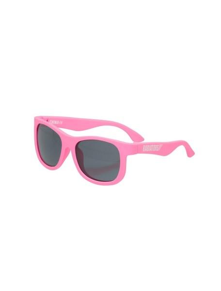 Солнцезащитные очки Бэбиаторс Навигаторы Розовые помыслы  0-2 лет (Babiators Original Navigator Think Pink!)
