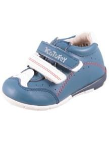 Детские ботиночки Котофей, р.20, синий-белый