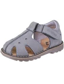 Детские туфли Котофей, р.21, серый