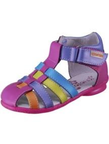 Детские туфли Котофей, р.21, фуксия-цветной