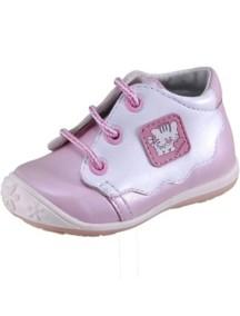 Детские ботиночки Котофей, р.19, розовый-белый