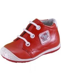Детские ботиночки Котофей, р.21, красный-белый