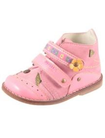 Детские ботиночки Котофей, р.21, розовый