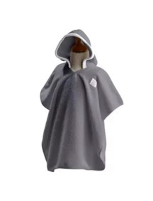 "Махровое пончо Red Castle ""Poncho"", 0307134 / Grey / White"