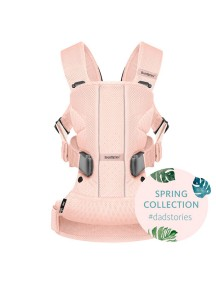 "Рюкзак-Кенгуру BabyBjorn ""One Air Mesh"", 12 / Розовый"