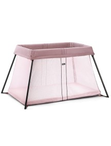 "Манеж-кровать BabyBjorn ""Travel Crib Light"", 55 / Темно-розовый"