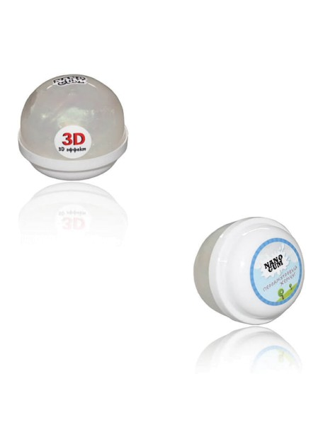 3D эффект 25 г Nano Gum, NG25PJ / Перламутровый жемчуг