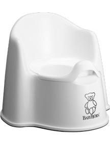 BabyBjorn Детский горшок-кресло, белый