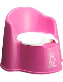 BabyBjorn Детский горшок-кресло, розовый