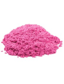 Пластичный (кинетический) песок 1 кг., Т57732 / Розовый