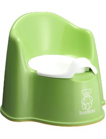 BabyBjorn Детский горшок-кресло, салатовый