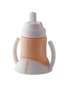 """Поильник Beaba """"Spout Cup Ellipse"""", 913387 / Nude"""