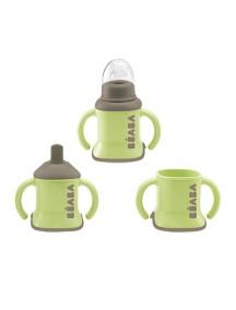 "Поильник Beaba ""Evolutive Cup 3 in 1"", 913369 / Green"