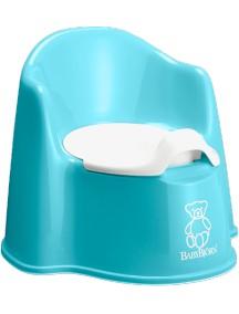 BabyBjorn Детский горшок-кресло, бирюзовый